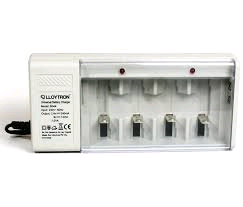 Lloytron Universal Battery Charger Charges AA, AAA, C, D & PP3