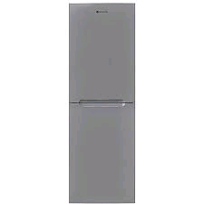 Hoover Fridge Freezer SILVER 165/90Litres Frost Free Metal Backed H177 W55  D70cm 4 Freezer Drawer