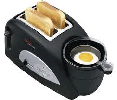 Tefal Toast & Egg Black 2 Slice with Egg Poach/Boil