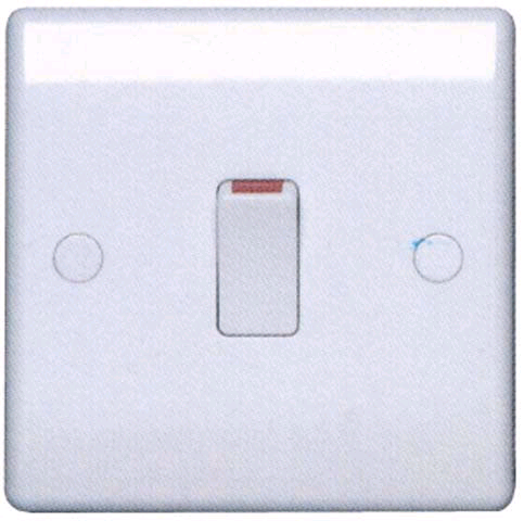 BG 20a Double Pole Switch