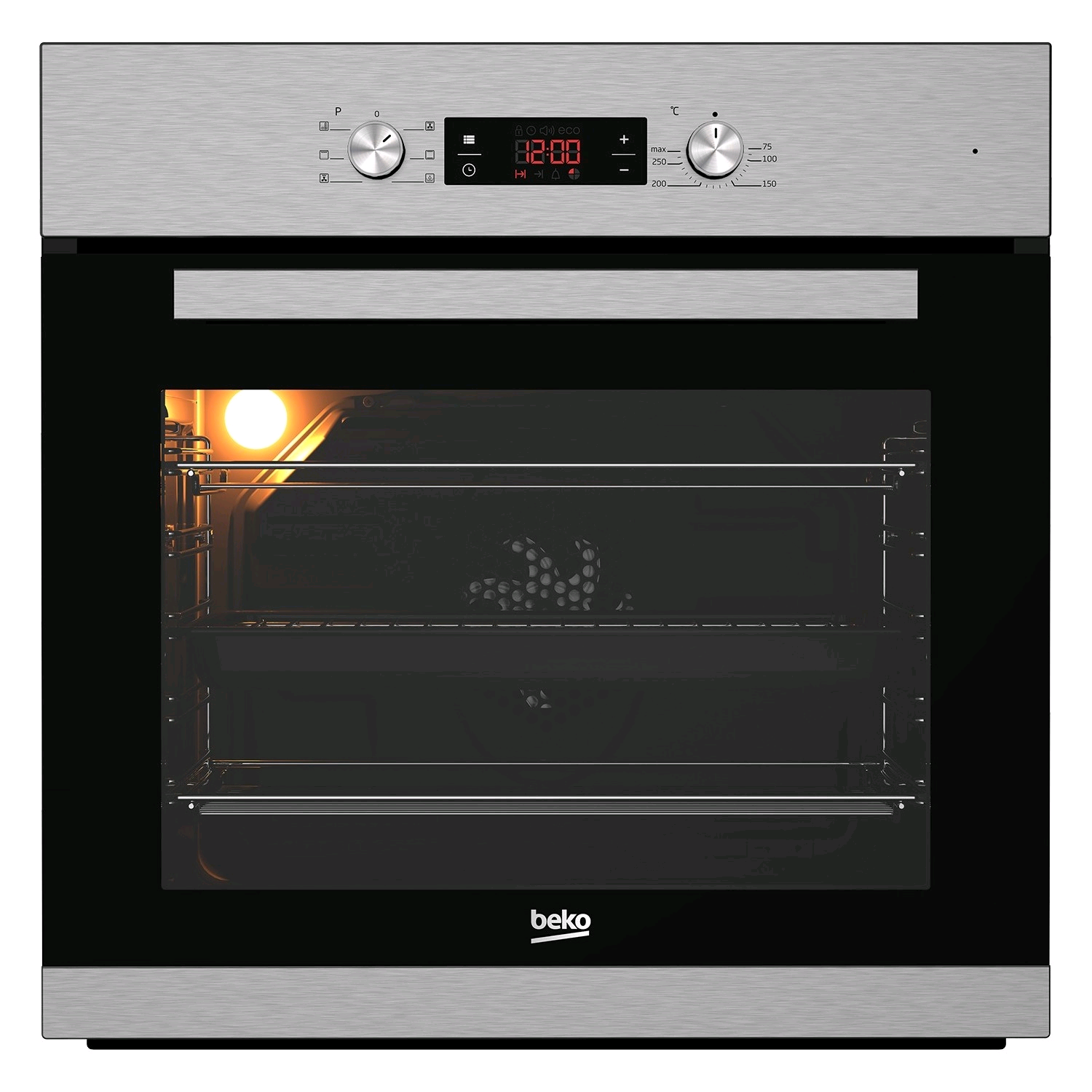 Beko Built In Electric Single Oven Stainless Steel