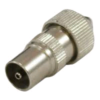 GJ Metal Coaxial Plug (Male)