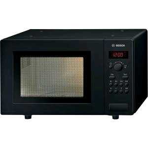 Bosch 800w Microwave 17Ltr BLACK Digital Display