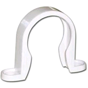 FloPlast Wastepipe Clip 50mm White