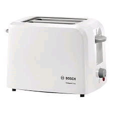 Bosch 2 Slice Village Toaster White