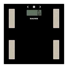 Salter Slim Glass Analyser Bathroom scales ( weight, fat,water and body mass index)