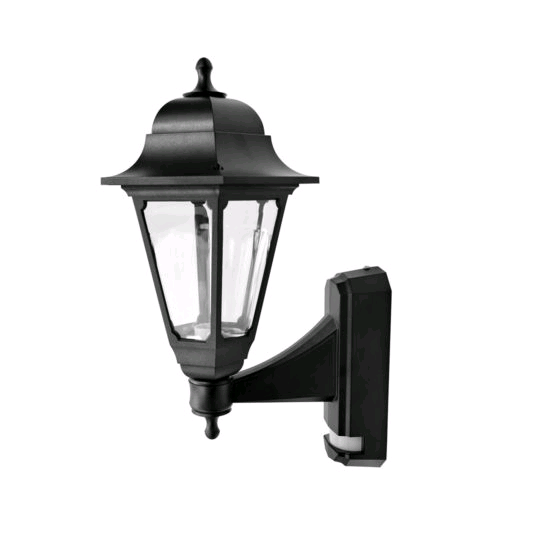 ASD Coach Lantern Black With PIR