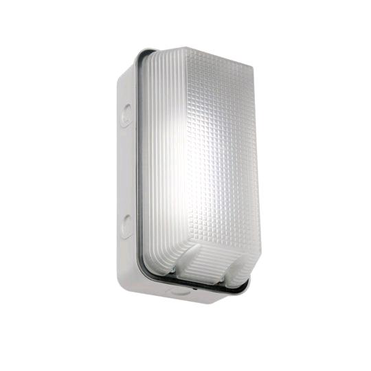 ASD Bulkhead White Prismatic 1 x 9w