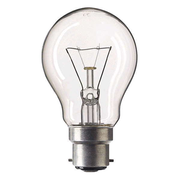 Lamp GLS Pearl/Clear BC 40w