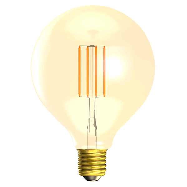 Bell Vintage Dimmable 4w ES LED Large Globe Amber 2000k