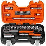 Bahco 34Piece ¼in & 3/8in SQDR Socket Set