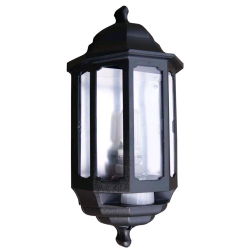 ASD Half Lantern Black With PIR