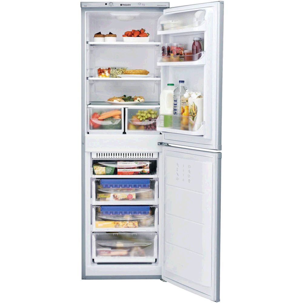 Hotpoint Aquarius  Fridge Freezer Static 1.5m 54.5 A+Silver