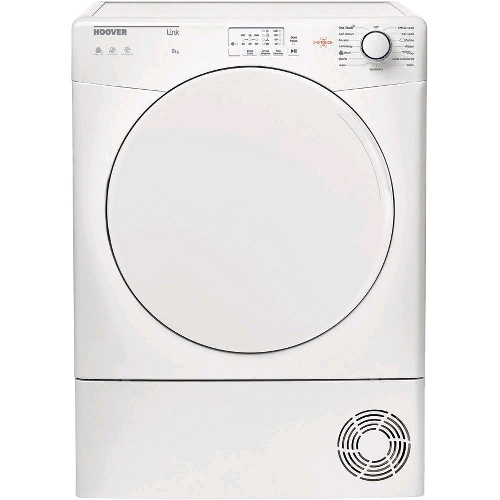 Hoover 8kg Sensor Dry Condenser Tumble Dryer