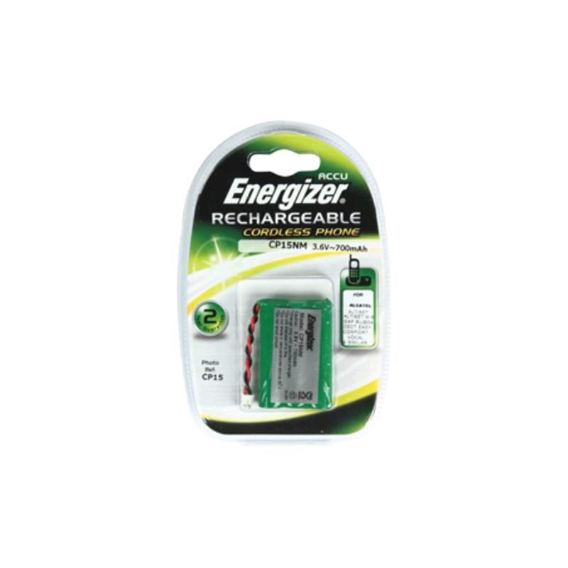 Energizer Cordless Telephone Battery 3.6v 600mAH