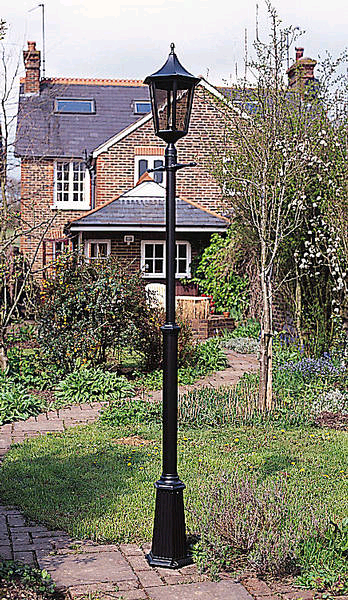 JCC Java Large Single Post Lantern