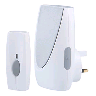 Byron Plug-In Wire Free Door Chime & Light