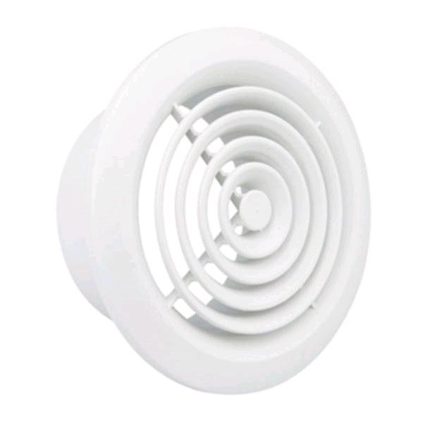 "Manrose 4"" Circular Ceiling Grill White"