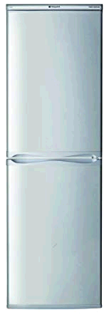 Hotpoint Aquarius Fridge Freezer Static 1.75m 54.5 A+ SILVER