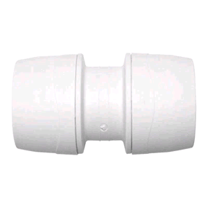 Polypipe PolyMax 15mm Straight Coupler
