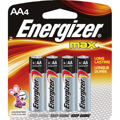 Energizer AA Battery 4 + 1 Pack