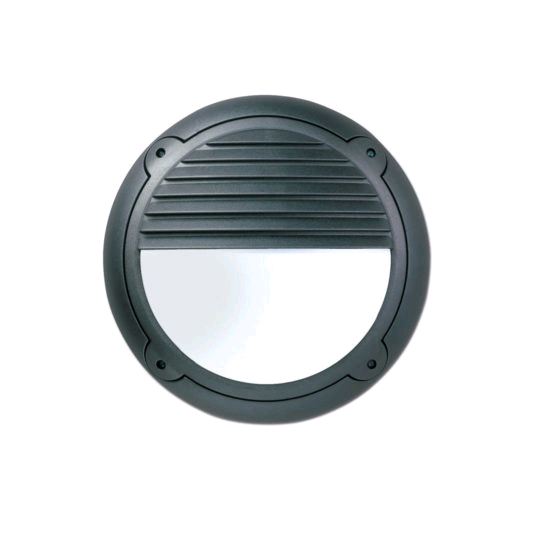 ASD Mini Horizon Black Louvre Opal LED600 PIR