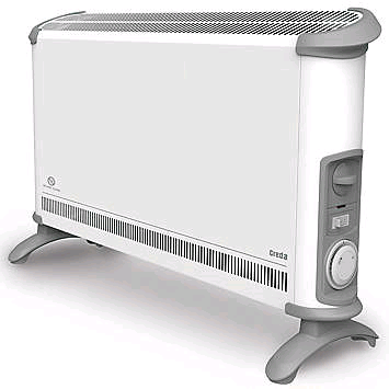 Creda Convector Heater 3Kw With Timer