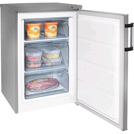 Hisense Under Counter Freezer in Stainless Steel - A++ Rated