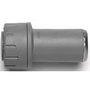 Polypipe Polyplumb 15mm x 10mm Socket Reducer