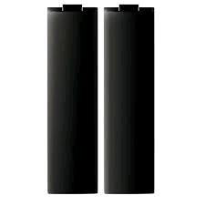 BG Euro Module Blank (½ Module) in Black