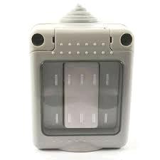 Gewiss 10A 1Gang 2Way Switch IP55 (EMG010)