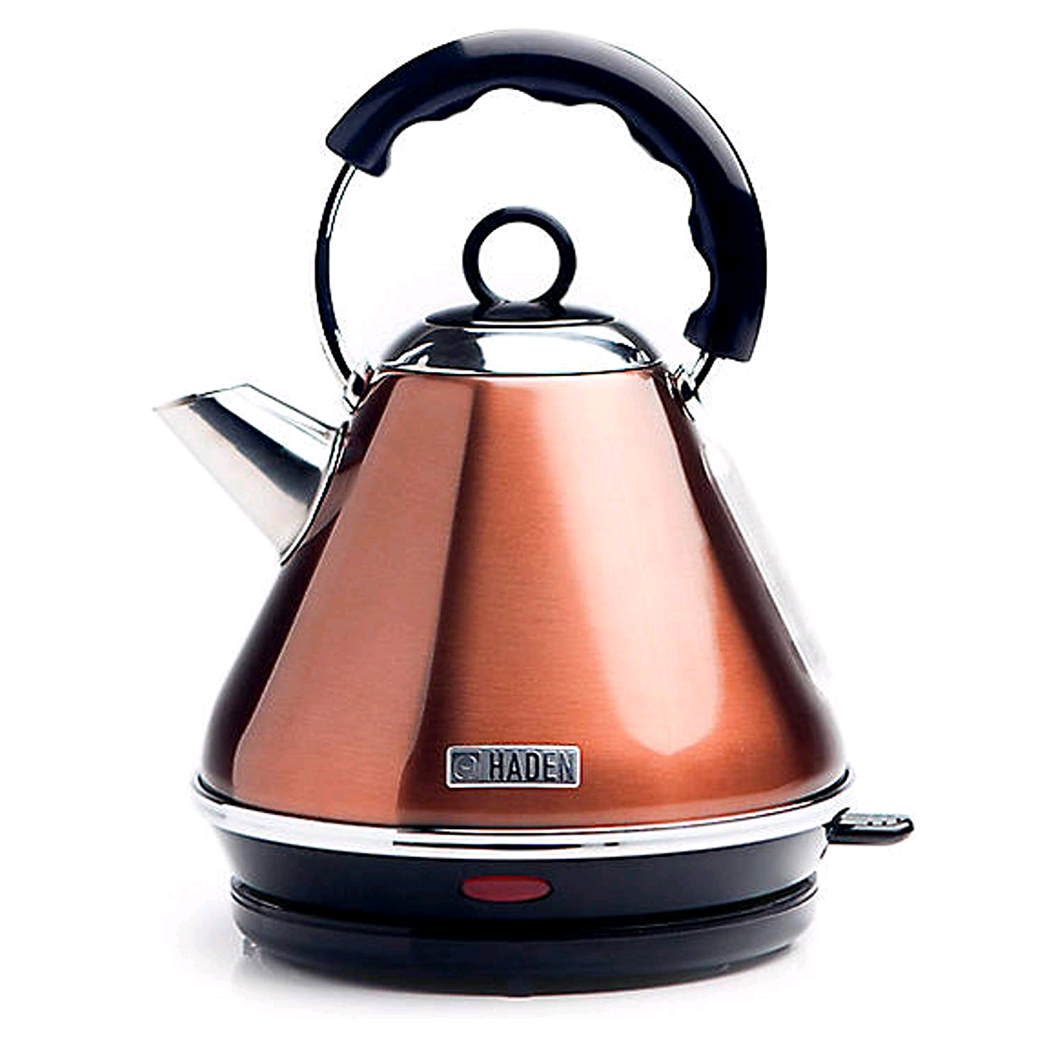 Haden 189721 Boston Pyramid CopperKettle 1.7Ltr 3KW