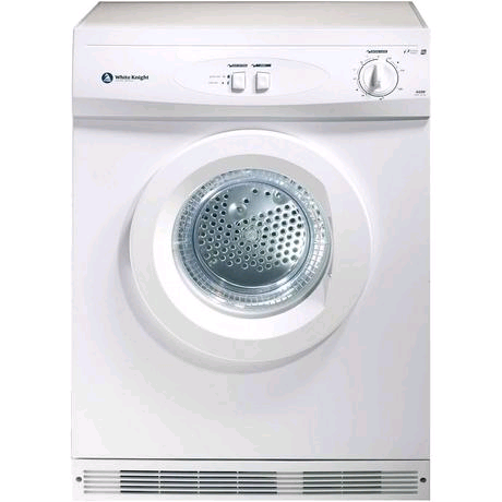 White Knight Tumble Dryer Vented 7Kg Reverse 2 Heat