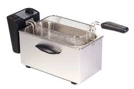 Igenix Stainless Steel Deep Fat Fryer 3.5 Ltr With Window
