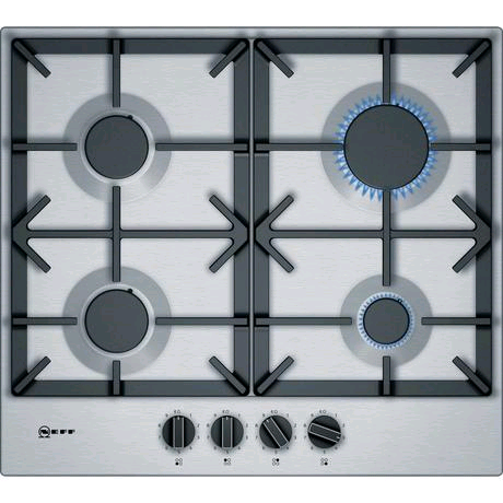 Neff Gas Hob 60cm Stainless Steel (LPG jets included)