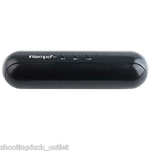 Intempo Bluetooth Capsule Speaker BLACK