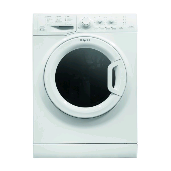 Hotpoint Washer Dryer 7kg 1400 Spin Speed Wash 5kg Load