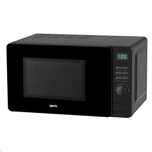 Igenix 20Ltr 800w Digital Microwave Black