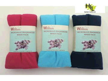 Highlight Imports Microwave Fleece Wheat/Lavender Bag 2620119