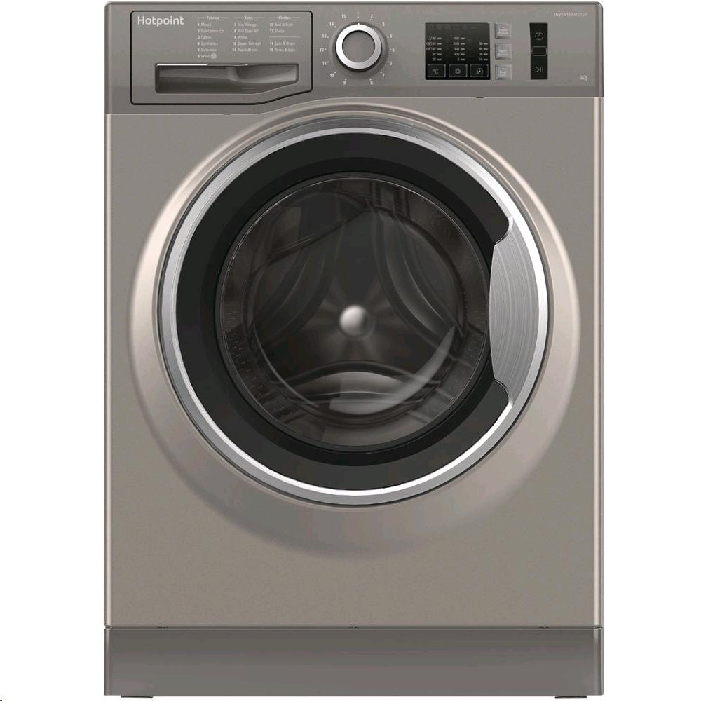 Hotpoint Washing Machine 8kg 1400 Spin Speed in Graphite