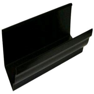 Floplast Niagara 110mm Square Gutter 4mtr Black