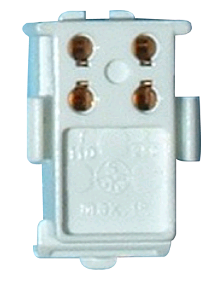 2D 4Pin Lampholder Snap-in