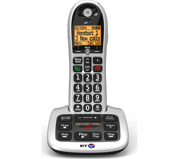 BT Big Button Single Phone with Answering
