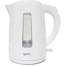 Igenix White Kettle 1.7ltr 3Kw
