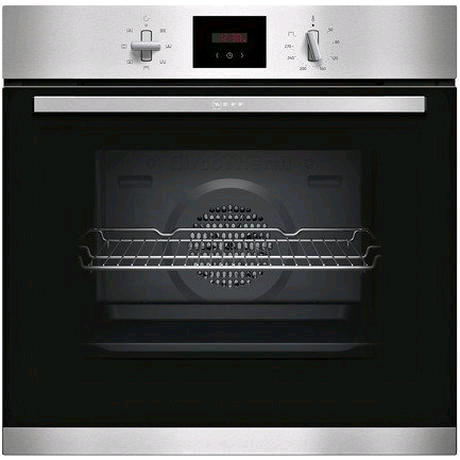Neff Built-In Electric Single Oven 71ltr in Stainless Steel
