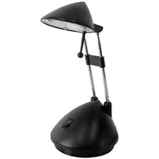 Lloytron Halo Style Task Lamp Black