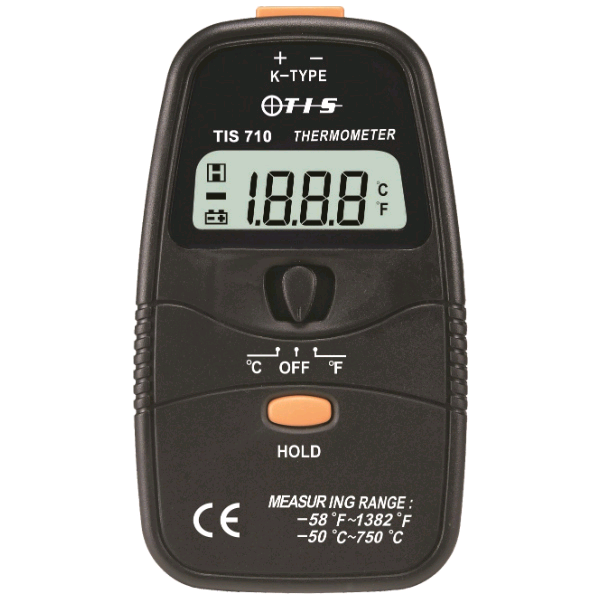 TIS Single Input Digital Thermometer