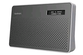 Goodmans Steel DAB Radio