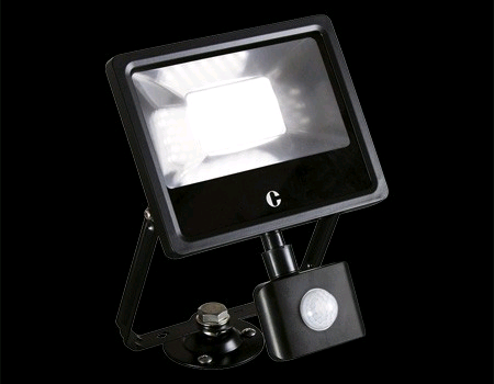 Collingwood 20W LED PIR Floodlight Colour Switchable IP44