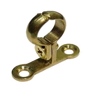 Brass 22mm School Board Pipe Clips